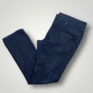 John Varvatos Bowry Slim Straight Jeans